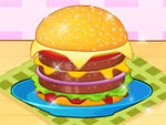 Play Hamburger Making Competition