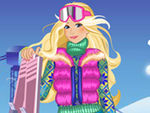 Play Alps Ski Dressup