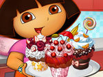 Play Dora Tasty Cupcakes