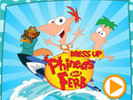 Play Phineas and Ferb Dressup