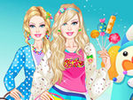 Play Barbie in Candyland