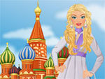 Play Barbie visits Moscow