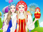 Play Barbie Russian Doll