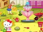 Hello Kitty Garden Cleanup