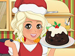 Play Mia Cooking Christmas Pudding