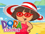 Play Dora Beach Dress up