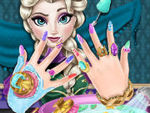 Play Elsa Nails Spa