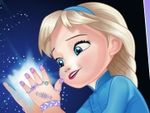 Play Baby Elsa Great Manicure