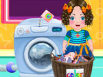 Play Daria Washing Clothes