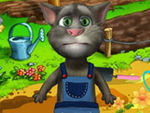 Play Talking Tom Gardener