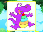 Play Proud Alligator Coloring