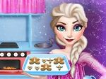 Play Elsa Cooking Gingerbread
