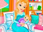 Play Frozen Elsa Gives Birth