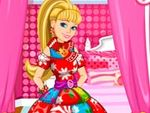 Barbies Christmas Patchwork Dress