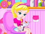 Baby Elsas Potty Train