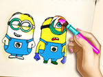 Play Minions Coloring Book