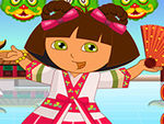 Play Dora in China Dressup
