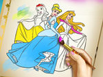 Play Princess Coloring Book