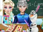 Play Elsa Homework Slacking