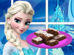 Play Elsa Chocolate Nut Brownies