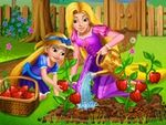 Play Rapunzel Mommy Gardening