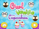 Play Cooking Trends Owl Vanilla Cupcakes