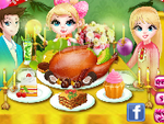 Play Thanksgiving Cooking Turkey