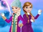 Play Elsa And Anna Winter Fun