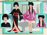 Play Makeover Studio Geisha Girl