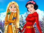 Play Rapunzel And Snow White Winter Holiday