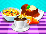 Play Cooking Milk Cereals And Pudding