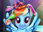 Play Rainbow Dash Real Haircuts