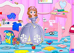 Play Princess Sofia Study Room Cleaning