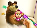 Play Masha and The Bear Coloring Book