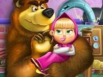 Play Masha and Bear Toys Disaster