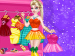Play Elsa Mini Dress Designer