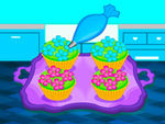 Play Bake Colorful Cupcakes