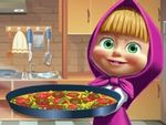 Play Masha Cooking Tortilla Pizza