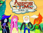 Play Adventure Time Dress Up Game