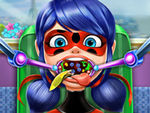 Play Miraculous Ladybug Throat Doctor