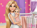 Play Mommy Rapunzel Home Decoration