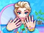 Play Ice Princess Nails Salon