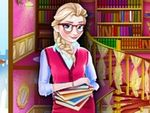 Play Elsa Library Decoration