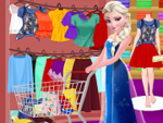 Play Elsa Summer Shopping