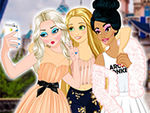 Play Princesses VS Princes Selfie Battle