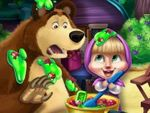Play Masha and Bear Kitchen Mischief