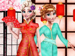 Play Elsa and Anna Japan Fashion Experience
