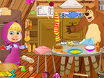 Play Masha Messy Kitchen