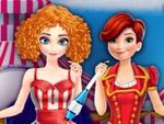 Play Elsa and Anna going to Circus