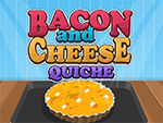 Play Easy to Cook Bacon and Cheese Quiche